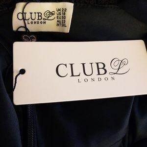783a0ff1d122 ASOS Dresses | Club L Plus Cami Strap All Over Sequin Maxi Dress ...